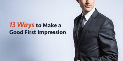 13 Ways to Make a Good First Impression as an Entrepreneur