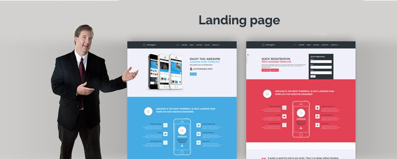 Create a great landing page