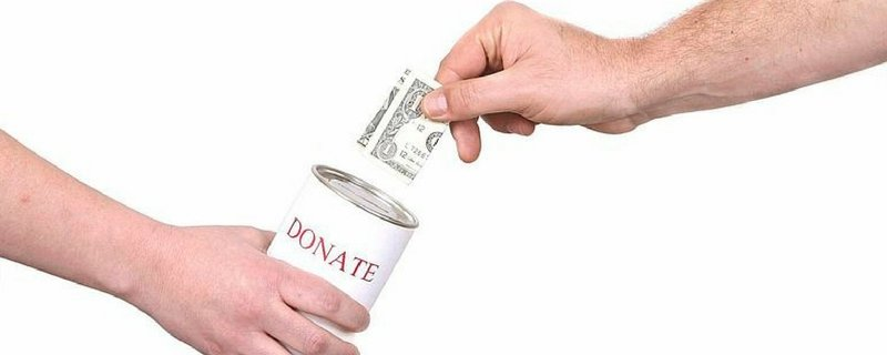 Donate to a tax-deductible charity