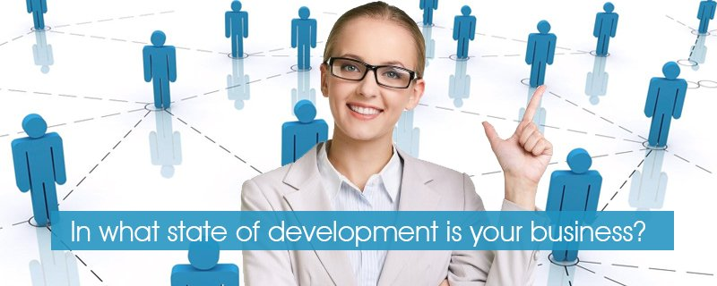 In what state of development is your business