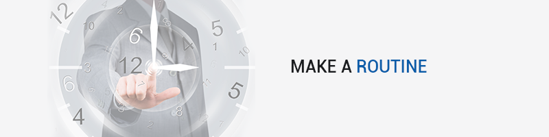 Make a Routine