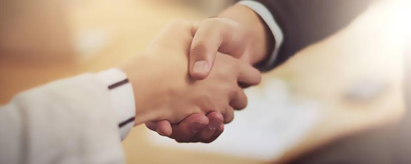 Practice your handshake
