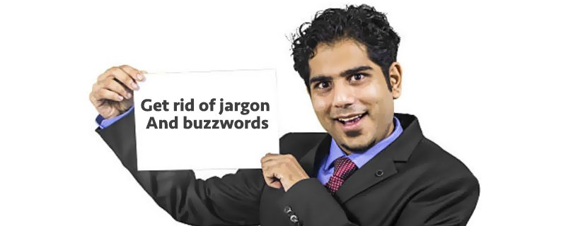 jargon and buzzwords