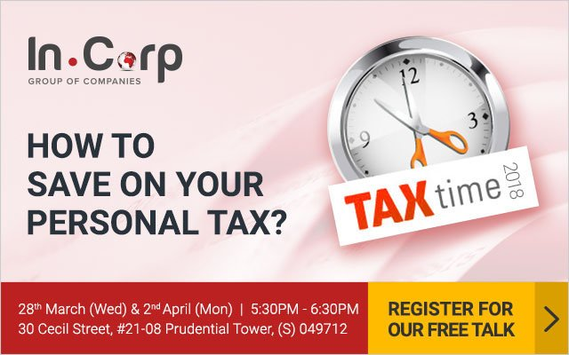 Free Talk on Ways to Save on Your Personal Tax