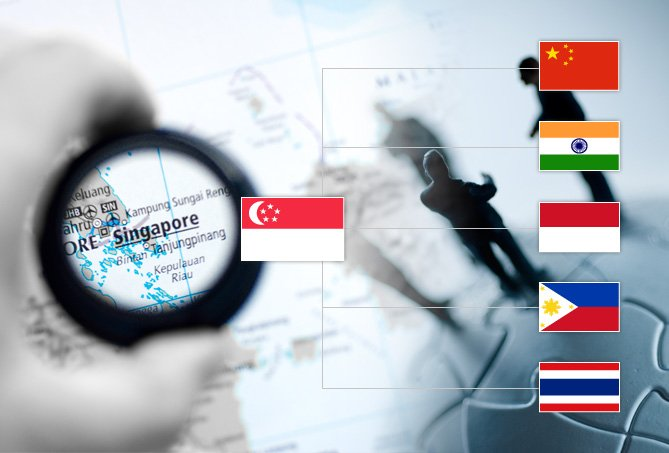 singapore connectivity to emerging economies