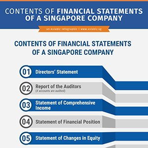 Singapore Company Financial Statements: What They Should Contain