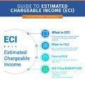 what is extimated chargeable income